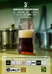 Cartel 3er Concurso Homebrewer