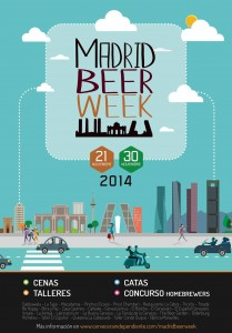 madrid beer week cartel