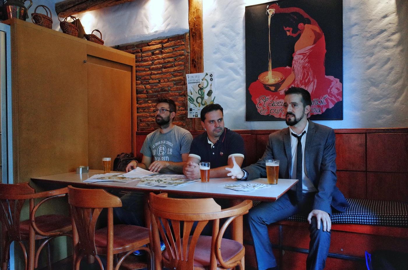 Presentaci n del v concurso homebrewer factor a de cerveza for El jardin del lupulo