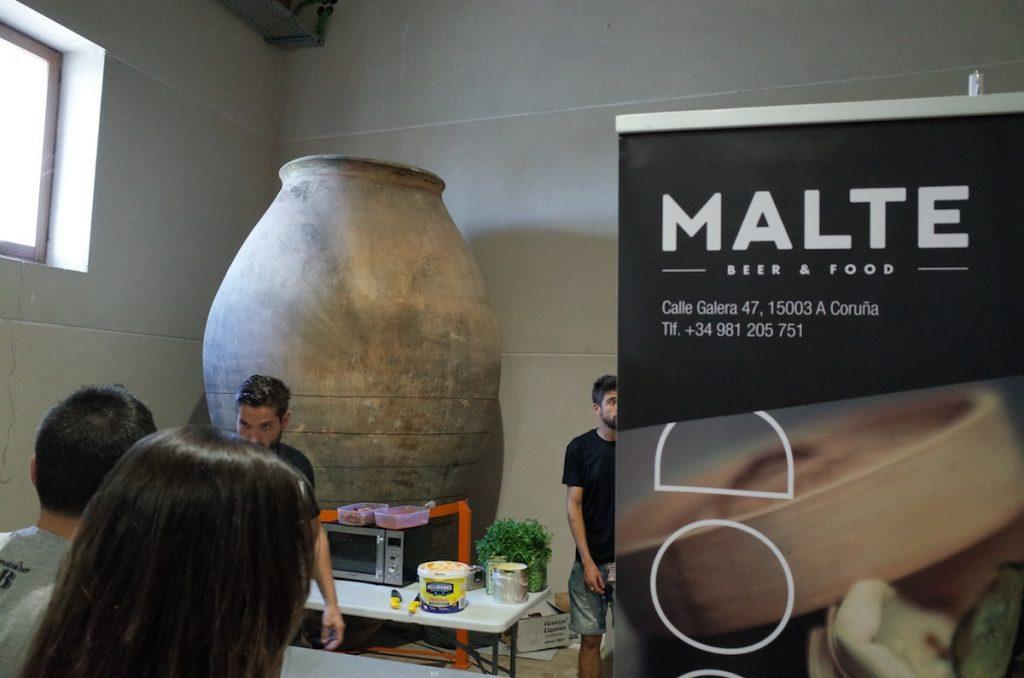 Malte se encargó de ofrecer maridajes pensados para las cervezas de la feria